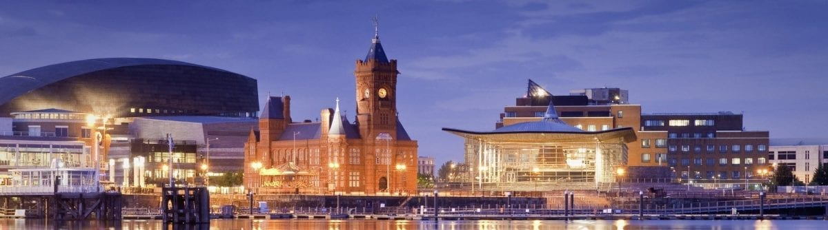 City View of Cardiff Where You Can Do Fostering Wales