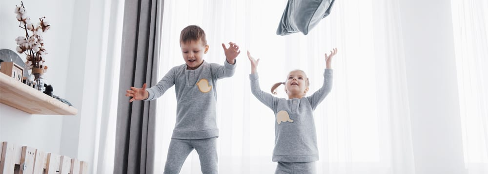 Each foster child's circumstances will be different, but sharing rooms can be possible with only their birth siblings.
